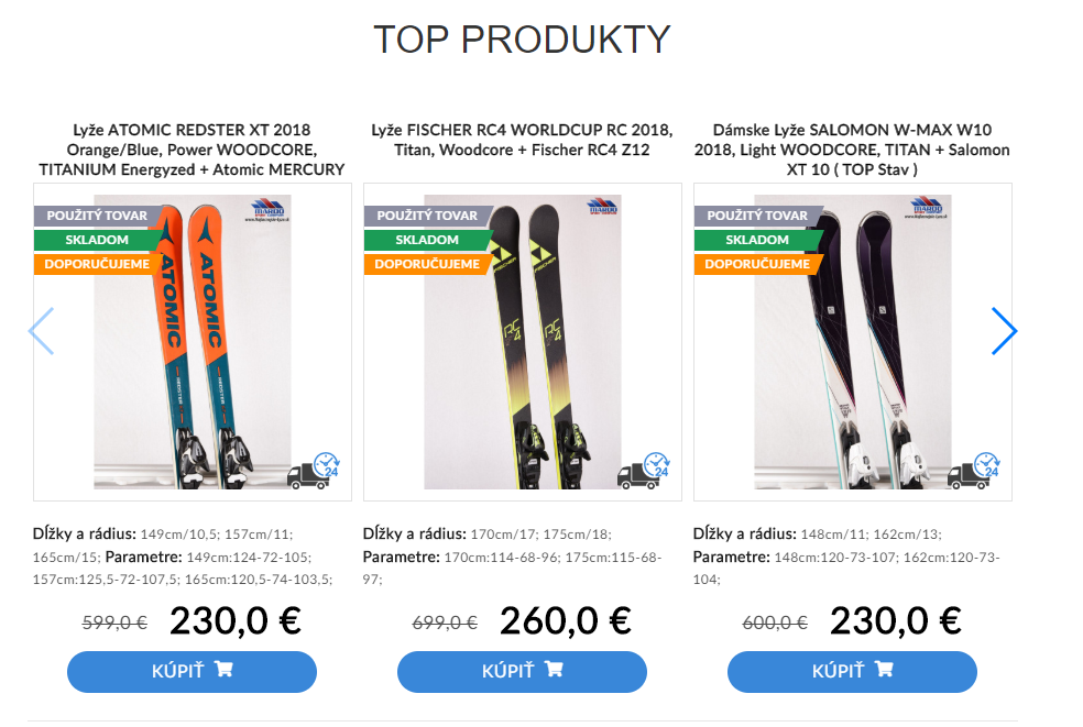 Cheapest skis top products